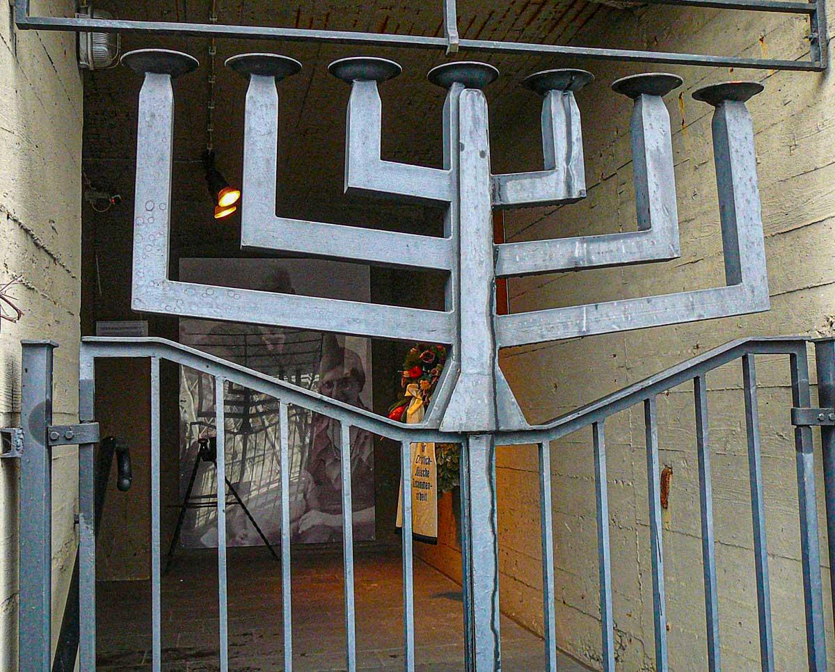 Menorah Eingangstor Aktives Museum Südwestfalen